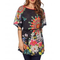 toppe tunika print sommer 101 idées 1605Y Engrossalg import